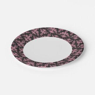 Damask Pattern 5 7 Inch Paper Plate