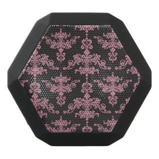 Damask Pattern 5 Black Bluetooth Speaker