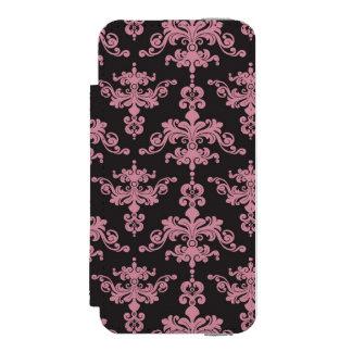 Damask Pattern 5 Incipio Watson™ iPhone 5 Wallet Case