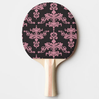 Damask Pattern 5 Ping Pong Paddle