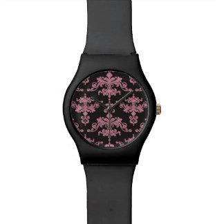 Damask Pattern 5 Wristwatches