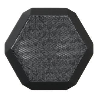 Damask Pattern 6 Black Bluetooth Speaker
