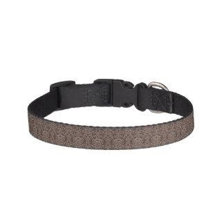 Damask pattern 6 pet collar
