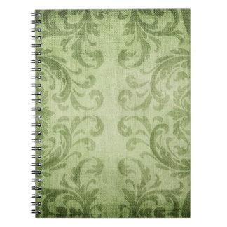 Damask Pattern Notebook