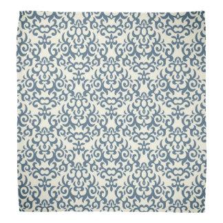 Damask pattern on gradient background 2 bandana