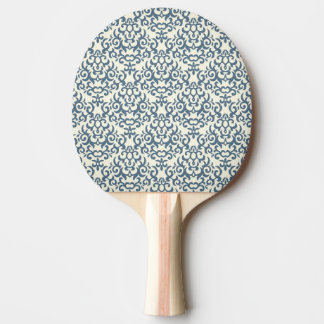 Damask pattern on gradient background 2 ping pong paddle
