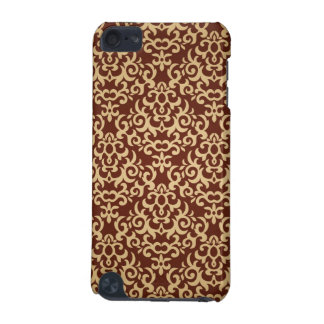 Damask pattern on gradient background iPod touch 5G case