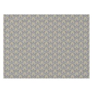 Damask pattern tablecloth