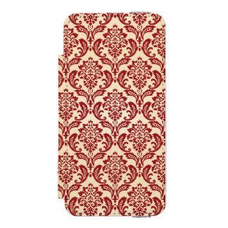 Damask pattern wallpaper incipio watson™ iPhone 5 wallet case