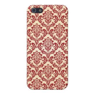 Damask pattern wallpaper iPhone 5/5S case