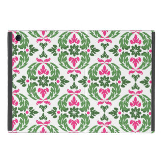 Damask Pink and Green Mini iPad Cover