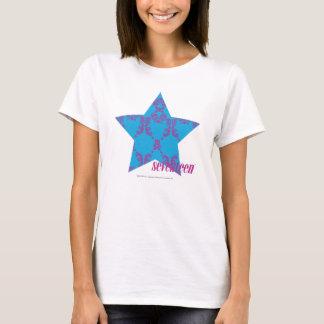 Damask Purple-Aqua 2 T-Shirt