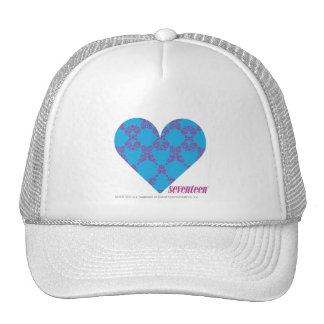 Damask Purple-Aqua 3 Hats
