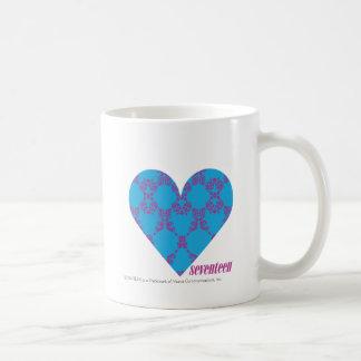 Damask Purple-Aqua 3 Coffee Mug