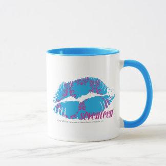 Damask Purple-Aqua Mug