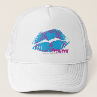 Damask Purple-Aqua Trucker Hat