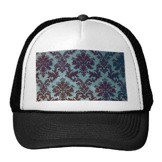 damask rising design trucker hats