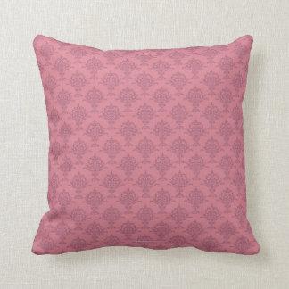 Damask Rose Pinks Cushion