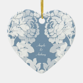 damask - secret garden - wedding ornament