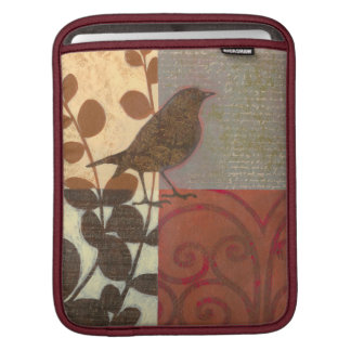Damask Sparrow iPad Sleeve