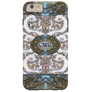 Damask Veyla Baroque 6/6s  Romantic Monogram Tough iPhone 6 Plus Case