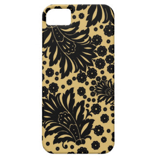 Damask vintage paisley feather floral pattern iPhone 5 covers