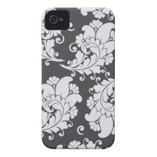 Damask vintage paisley feather wallpaper case iPhone 4 covers