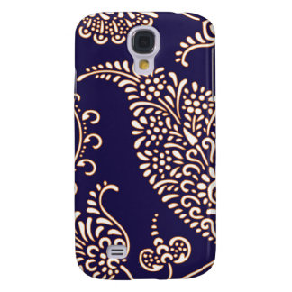 Damask vintage paisley girly floral chic pattern galaxy s4 case