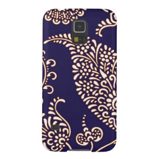 Damask vintage paisley girly floral chic pattern galaxy s5 covers