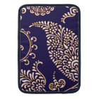 Damask vintage paisley girly floral chic pattern sleeve for MacBook air