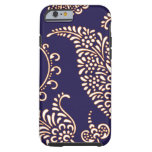Damask vintage paisley girly floral henna pattern tough iPhone 6 case