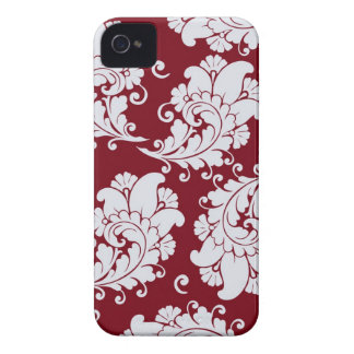 Damask vintage paisley wallpaper floral pattern iPhone 4 case
