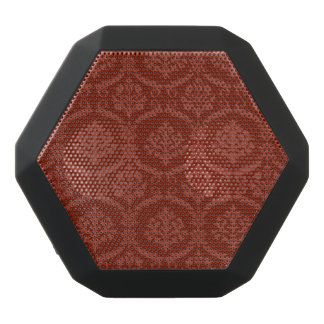 Damask wallpaper 3 black bluetooth speaker