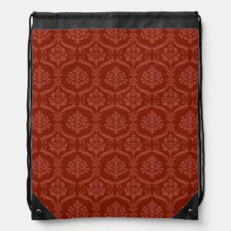 Damask wallpaper 3 drawstring bag