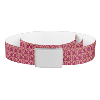 Damask wallpaper 4 belt