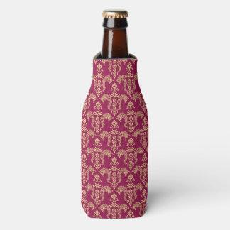 Damask wallpaper 4 bottle cooler