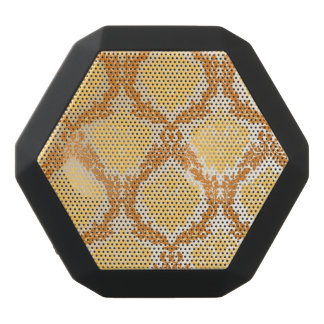 Damask wallpaper 5 black bluetooth speaker