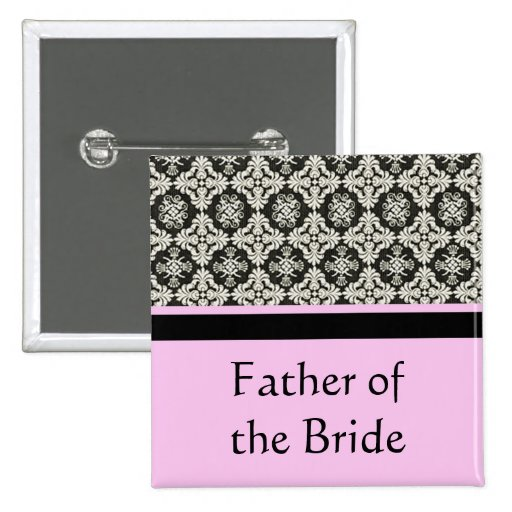damask wedding button. for father,brother buttons