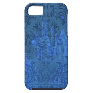 Damask Wildflowers, Angel's Castle in Blue iPhone 5 Case