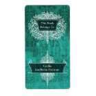 Damask Wildflowers, Angel's Castle in Turquoise