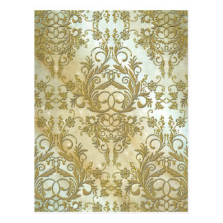 Damask Wildflowers MORNING STARS Post Cards