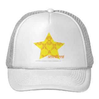 Damask Yellow-Orange 3 Cap