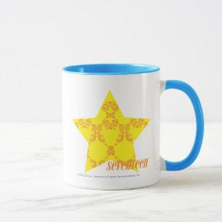 Damask Yellow-Orange 3 Mug