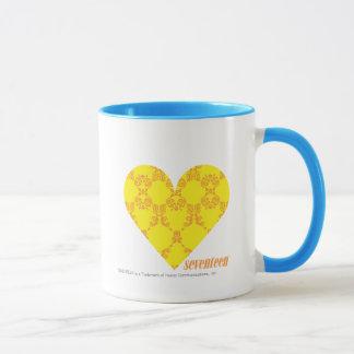 Damask Yellow-Orange 4 Mug