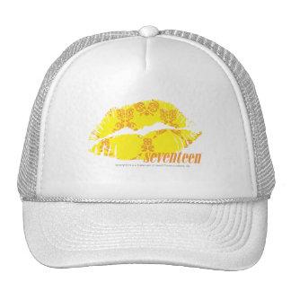 Damask Yellow-Orange Cap