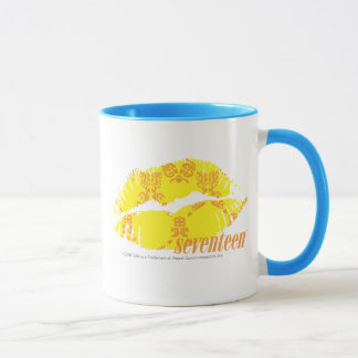 Damask Yellow-Orange Mug