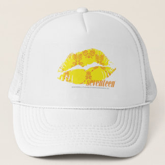 Damask Yellow-Orange Trucker Hat