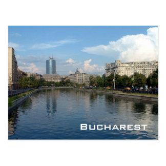 Dambovita river - Bucharest Postcard