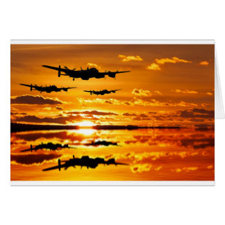 Dambusters training Sortie Card