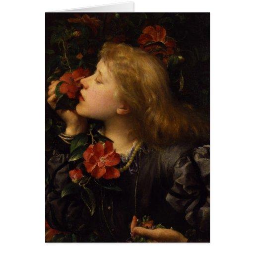Dame Alice Ellen Terry Choosing by George Watts Greeting Cards